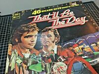 THAT'LL BE THE DAY - 40 Smash Hits LP Record Vinyl