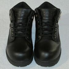 Slip Resistant Men's sz 8.5 LUGZ BLACK high-top work BOOT MZNHL001 NY LUG co
