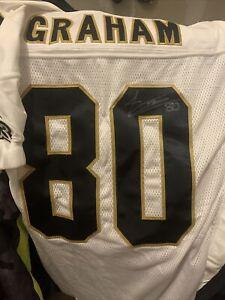 jimmy graham saints Autograph Authentic jersey