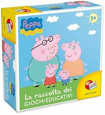 Peppa Pig Raccolta di Giochi Educativi Lisciani 40636