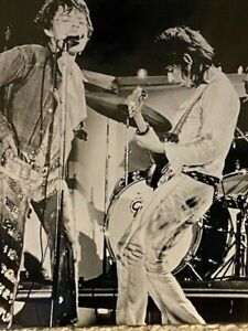 Vintage Photograph Mick Jagger and Keith Richards - The Rolling Stones