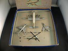 Dinky Toys F 60 coffret cadeau avions 1957 Air France Vickers Mystére boite rare