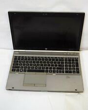 HP Elitebook 8560P i7-2760QM 2.4Ghz 8GB RAM no HD Laptop #100