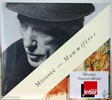 nouvel album Cd MIOSSEC Mammifères neuf 5/2016 édition limitée Digipack Bretagne