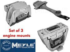 MEYLE ENGINE & GEARBOX MOUNT SET OF 3 GOLF MK4 1.9TDI 6 SPEED INC GTTDI