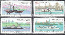 Poland  1979 - Vistula River navigation - Mi 2633-36 - used