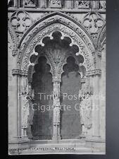 Lichfield Cathedral: West Porch c1935