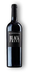 Black Print Rotwein Cuvée Markus Schneider 0,75L (aktuellen Jahrgang bitte ggf e