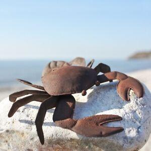 Metal Tin Crab – Coastal Ornament