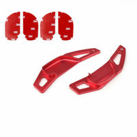 1 Pair Volant Shift Pagaie Shifter Roue Extension Pour Toyota RAV4 Camry Red A