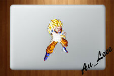 Macbook Air Pro Vinyl Skin Sticker Decal Goku Super Saiyan Dragon Ball CMAC027