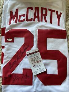 Darren McCarty signed jersey w/ legendary inscription - JSA. Detroit Red Wings