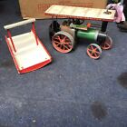 Barn Find Vintage Mamod Traction Engine Live Steam Untested 1