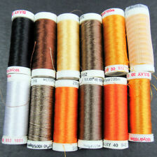 12x Machine Sewing THREAD SULKY 30 Wt cotton & 40 Wt rayon-mixed-ZZ133