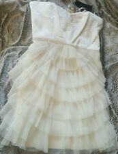 NWT BCBG Maxazria cocktail tiered dress size 6
