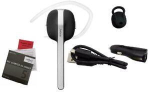 *OEM Jabra STYLE+ Plus Wireless Bluetooth Headset Earpiece W/ Free Car Charger