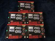 SNES Classic Super Nintendo Mini Edition Console 100% Authentic Brand New