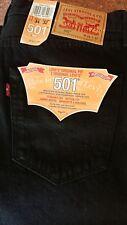 Jeans Levis 501 da uomo 34. regolare NUOVO CON ETICHETTA