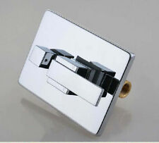 Chrome 3 Ways Shower Faucet Tap Control Valve One Handle Plate Mixer Wall mount