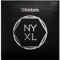 D'Addario NYX1260 Extra Heavy 12-60 Guitar Strings