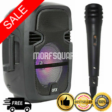 4,400 Watts Wireless Portable Party Bluetooth Speaker with Microphone Remote NEW