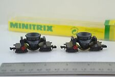 Minitrix 13827 Ore to Steel Iron Slag Car Set