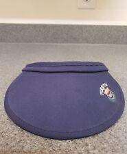 Forsyth Golf Country Club Sun Visor 1912 Hat Cap Navy Blue Osfa