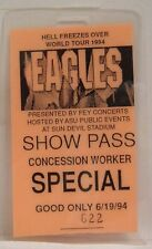 The Eagles / Glenn Frey - Original Concert Tour Laminate Backstage Pass