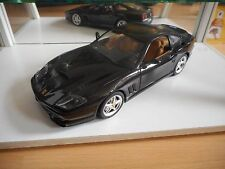 Bburago Burago Ferrari 550 Maranello 1996 in Metalic Black on 1:18