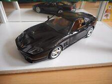 Bburago Burago Ferrari 550 Maranello 1996 in Metalic Black on 1:18