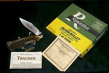 Remington R1306 Knife Bone Stag Tracker Silver Bullet Edition C-1990 W/Packaging