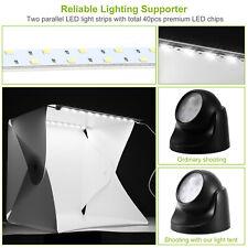 Photo Studio Portable Light Room Photography Lighting LED Mini Cube Box Backdrop