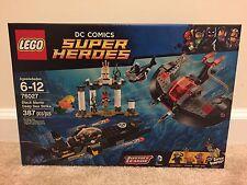 New! Lego DC Comics Super Heroes Black Manta Deep Sea Strike 76027