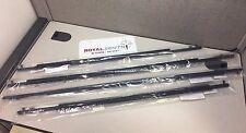 Toyota Prius 10-15 Front & Rear Door Belt Mouldings Weatherstrip Genuine OEM OE