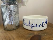 Personalised Pet Bowl Dog Bowl Mrs Hinch Any Colour Writing Custom