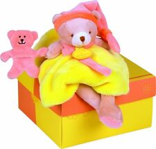 FRENCH - Doudou et Compagnie - Bear Soft Toy - BRAND NEW FREE DELIVERY