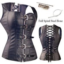 Plus Size New Halloween Women Bustier Waist Training Corset Steampunk Dress Punk
