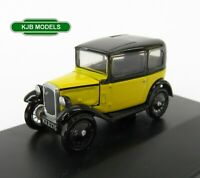 BNIB OO GAUGE OXFORD DIECAST 1:76 76ASS007 Austin Seven Yellow / Black Car