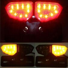 12V Smoke 18-LED Motorcycles Brake Rear Tail Turning Signal Integrated Light
