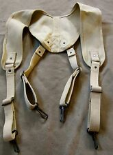 WWII US ARMY MEDICAL MEDIC YOKE EQUIPMENT SUSPENDERS-OD#3