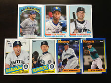 2013 Topps Archives Seattle Mariners Team Base set 7