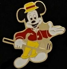 Mickey Mouse~Walt Disney~Golf Collection~NOS 80's vintage~hand painted on metal!