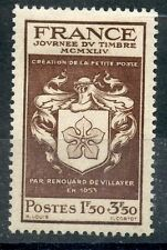 STAMP / TIMBRE FRANCE NEUF N° 668 * JOURNEE DU TIMBRE ECUSSON