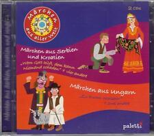 2-CD-Set:  5 MÄRCHEN AUS SERBIEN UND KROATIEN und 3 MÄRCHEN AUS UNGARN