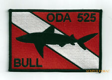 5TH SPECIAL FORCES BULL HAT PATCH SHARKMEN US ARMY DIVER SCUBA PIN UP SHARK