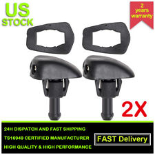 2x Car Window Windshield Washer Spray Wiper Sprinkler Nozzle Universal Plastic