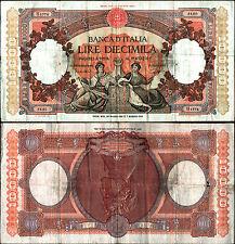 12b) BANCONOTA 10000 lire repubbliche marinare 23.3.1961