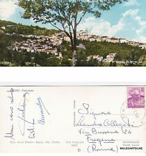 # SUPINO: PANORAMA - mini-cartolina   1962