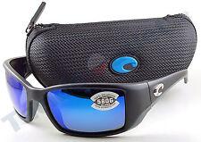 Costa BL11OBMGLP Blackfin Sunglasses 580G Blue Mirror Lens Matte Black Frame