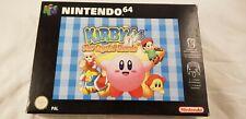 * Nintendo 64 * Kirby 64 The Crystal Shards * N64 * PAL version * VERY RARE *